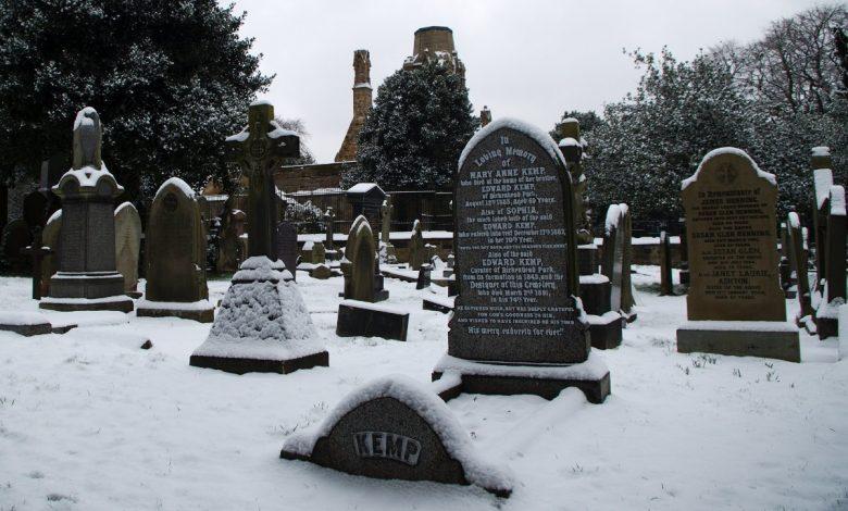 Edward Kemp's memorial stone