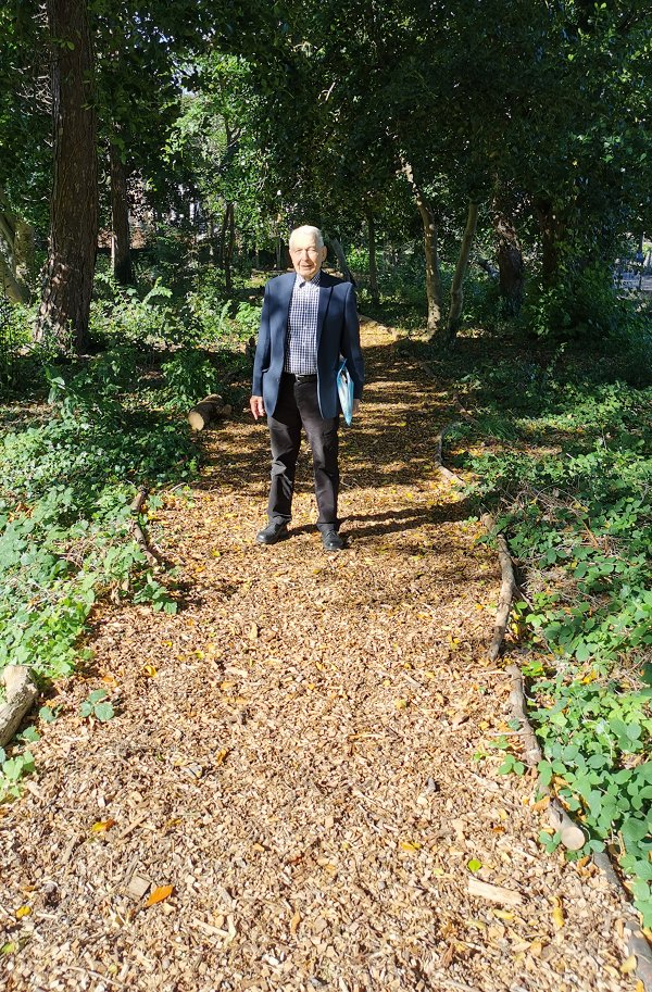 Frank Field on The Flaybrick Nature Trail